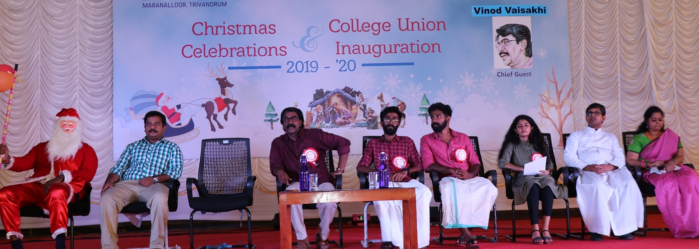 UNION INAUGURATION AND CHRISTMAS CELEBRATION 2019