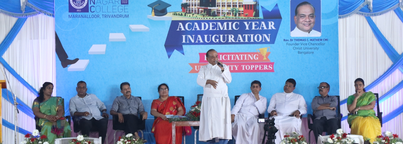 ACADEMIC YEAR INAUGURATION 2019